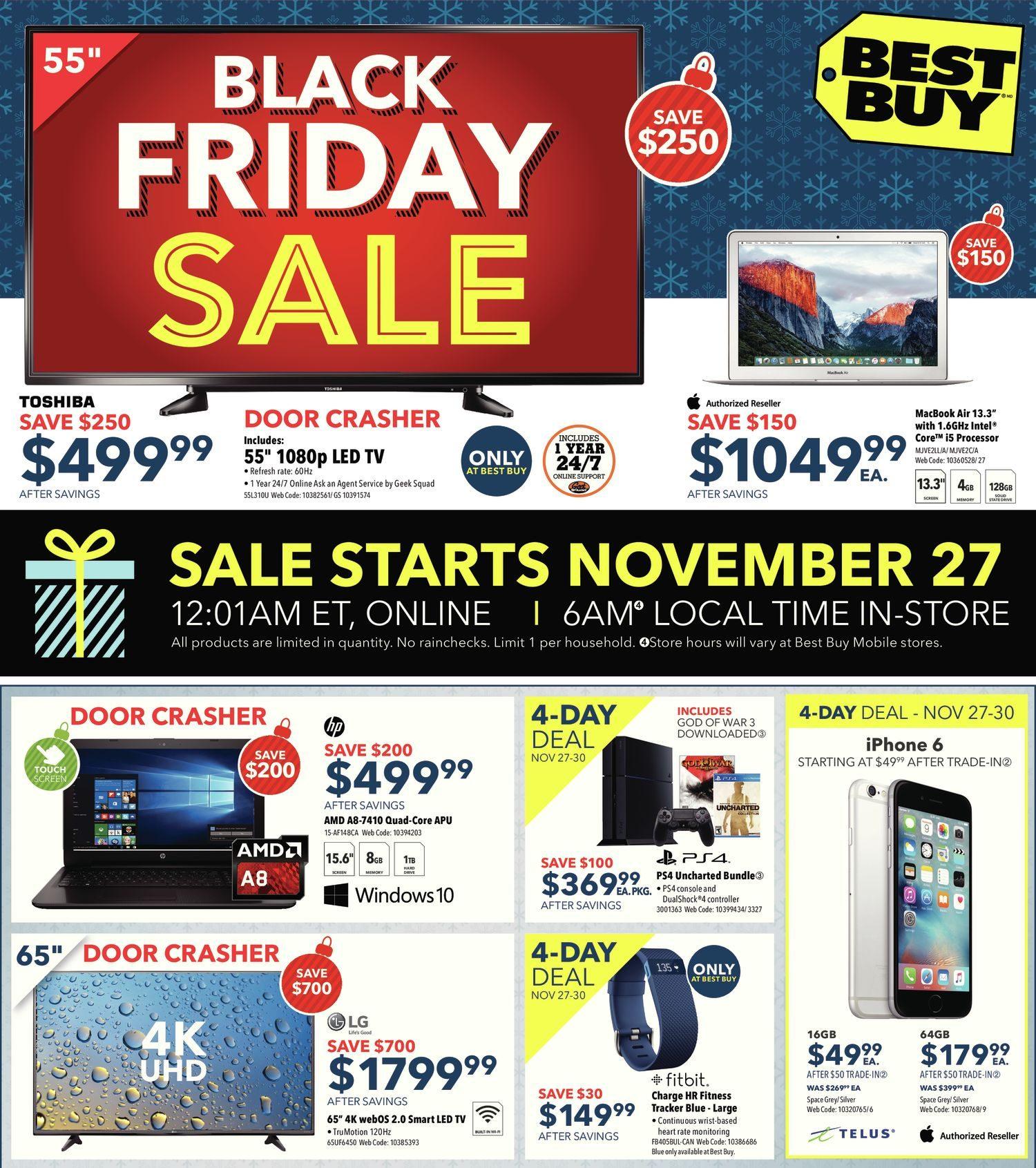 Best Buy Canada Black Friday Door Crashers - The Door