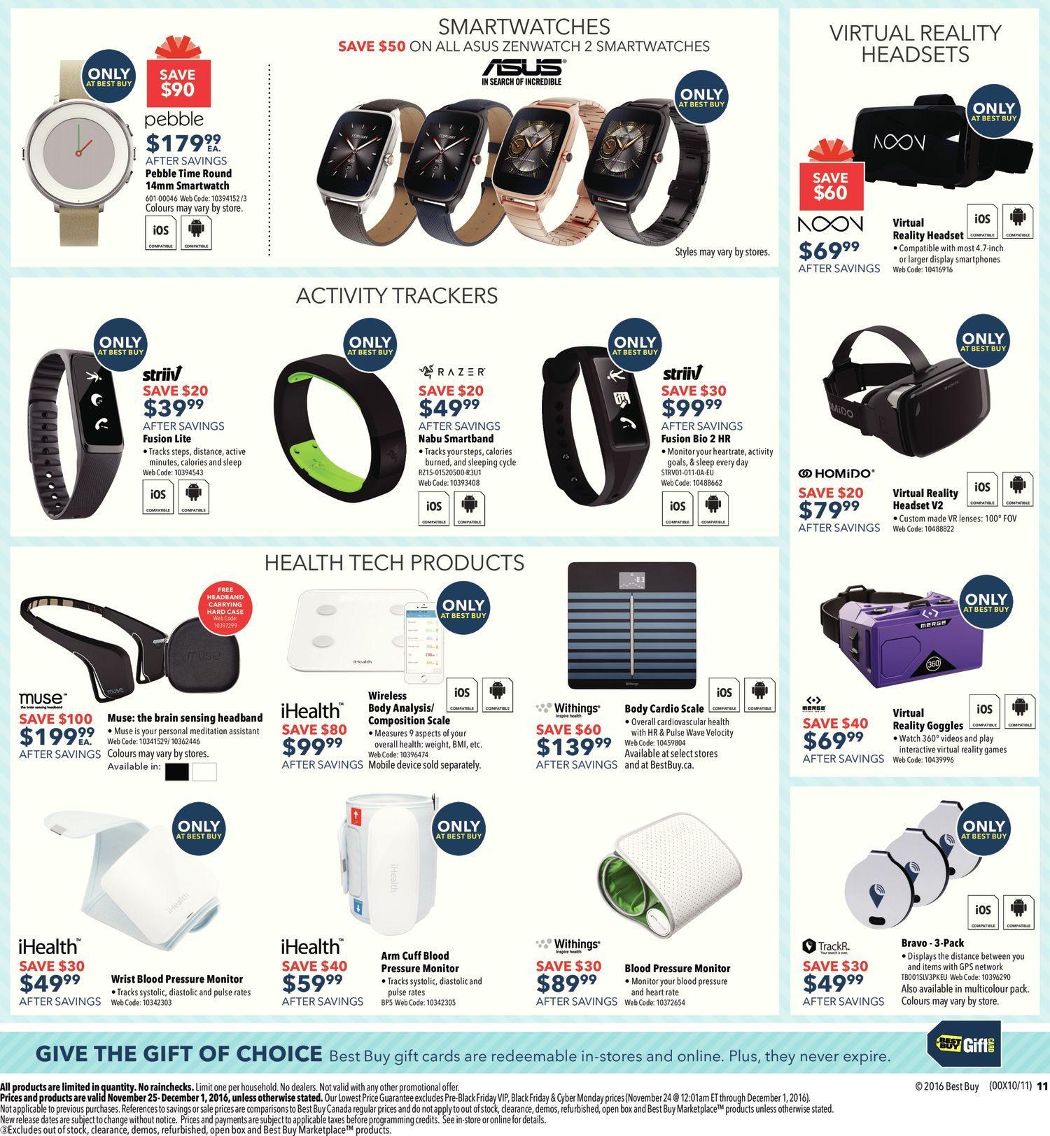 65163da7d59 Best Buy Weekly Flyer - Weekly - Black Friday Sale - Nov 25 – Dec 1 -  RedFlagDeals.com