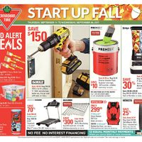 - Weekly - Start Up Fall Flyer