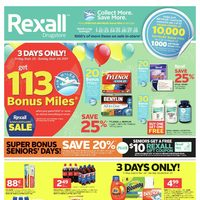 Rexall - Calgary Only - Week Long Savings! Flyer