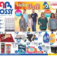 Rossy - 2 Weeks of Savings - Hello Fall Flyer
