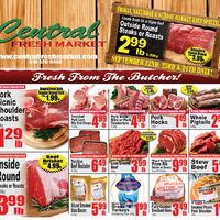 Central Fresh Market - Weekly Specials Flyer