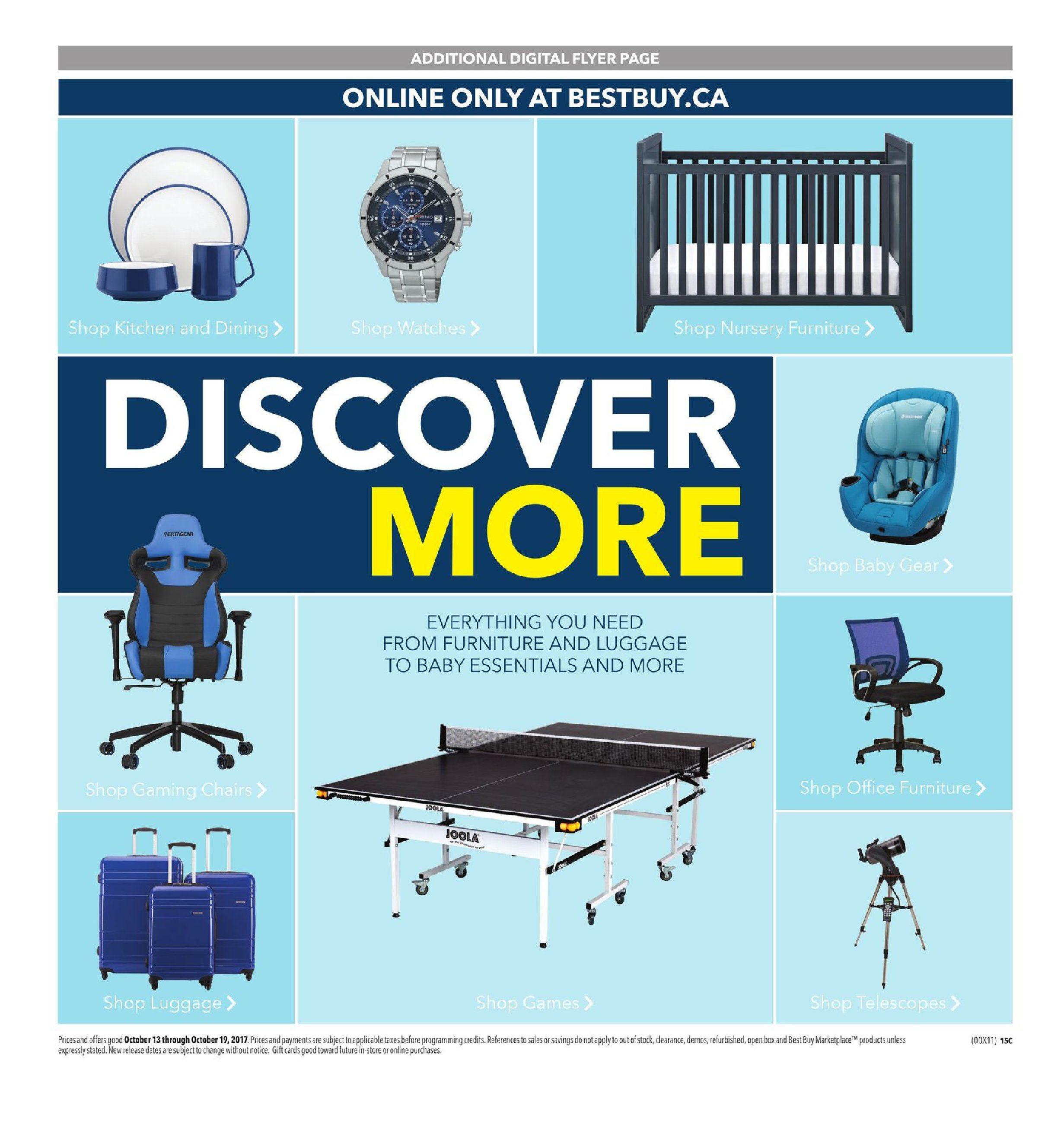 Best Buy Weekly Flyer - Weekly - Ultimate Appliance Sale - Oct 13 ...