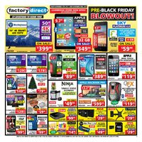 Factory Direct - Weekly - Pre-Black Friday Blowout!  Flyer