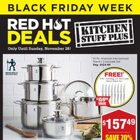 Kitchen Stuff Plus - Red Hot Deals - Black Friday Week Flyer