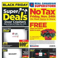 Real Canadian Superstore - Weekly - Black Friday Super Deals! Flyer