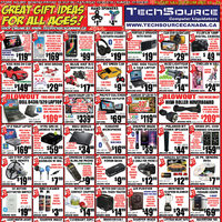 Tech Source - Great Gift Ideas for All Ages! Flyer