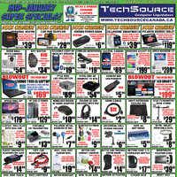 Tech Source - Mid-January Super Specials! Flyer