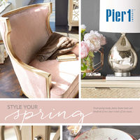 Pier1 Import - Monthly Book - Style Your Spring Flyer