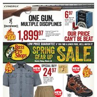 Bass Pro Shops - Spring Gear Up Sale Flyer