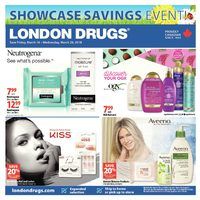 London Drugs - Showcase Savings Event! Flyer