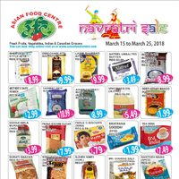Asian Food Centre - Navratri Sale Flyer