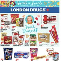 London Drugs - Sweets & Snacks Flyer