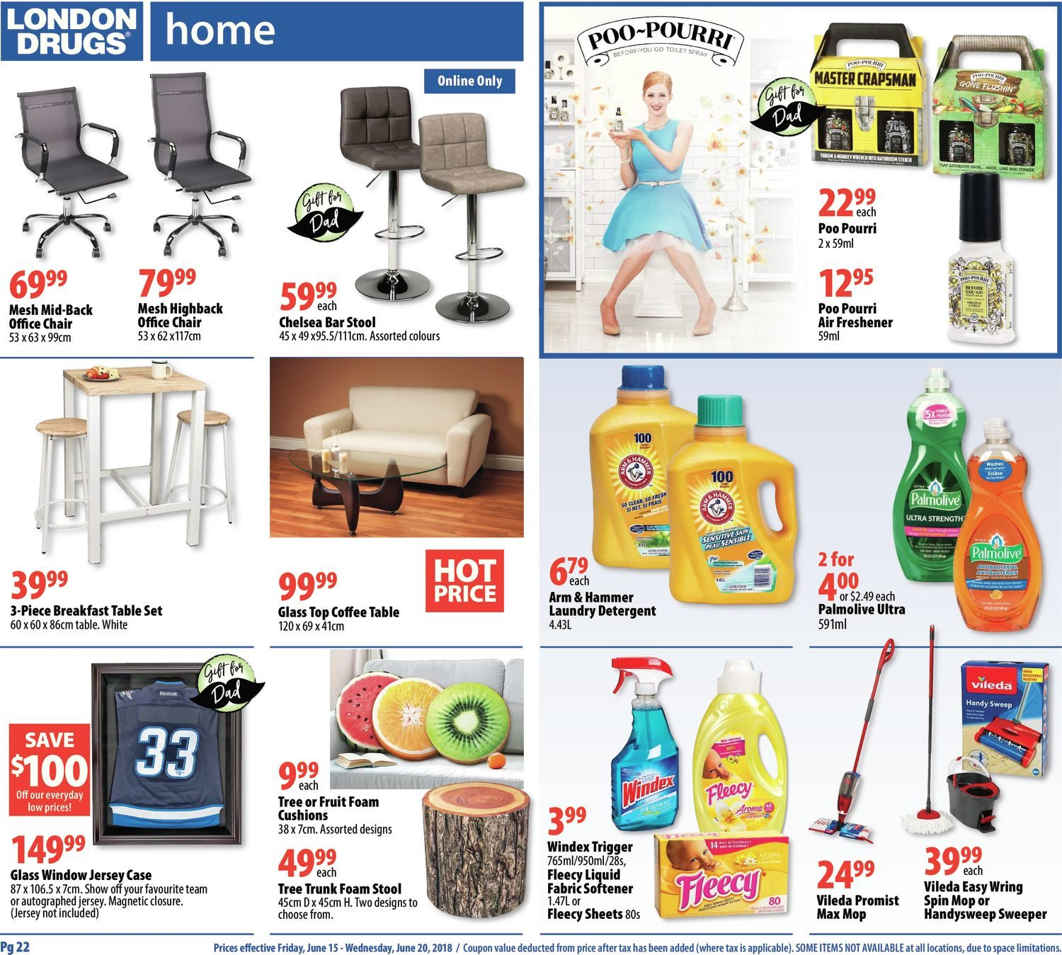 London Drugs Weekly Flyer 6 Days Of Savings Happy Fathers Day Computer Hard Drive Circuit Board Spiral Note Book 1295 Jun 15 20