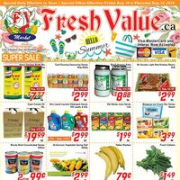 Fresh Value - Weekly Specials - Hello Summer Flyer