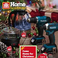 - Come Home For Christmas Flyer
