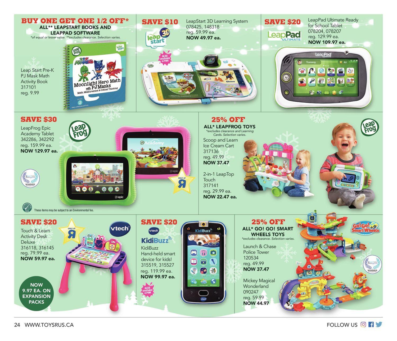 Toys R Us Weekly Flyer - Weekly - 18 More Sleeps! - Dec 7 – 13