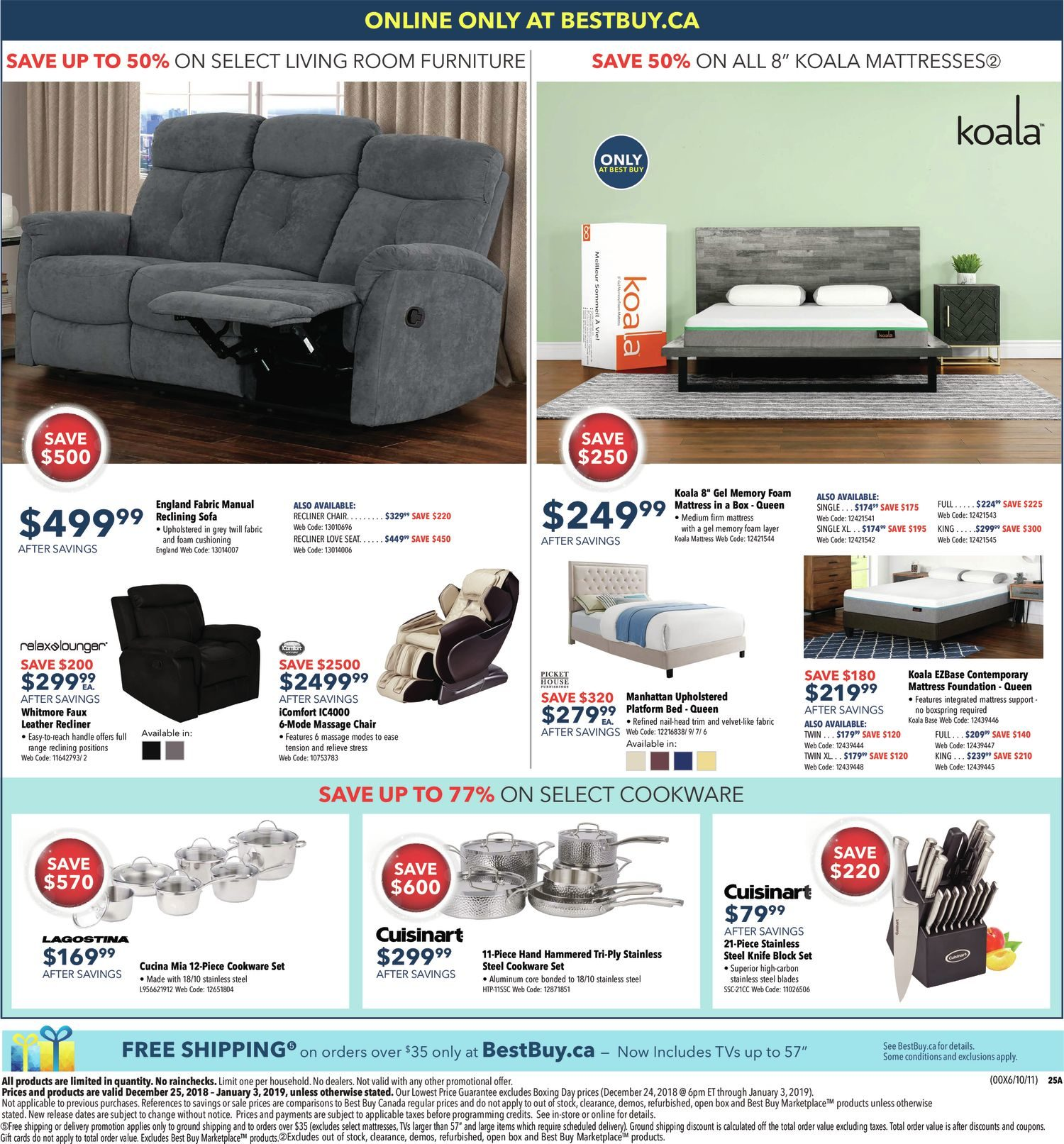 88705033a2bd37 Best Buy Weekly Flyer - Boxing Day Sale - Dec 25 – Jan 3 - RedFlagDeals.com