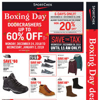 Sport Chek - Boxing Day Deals Here! Flyer