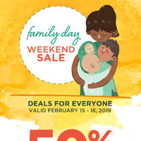 Fabricland - Family Day Weekend Sale Flyer