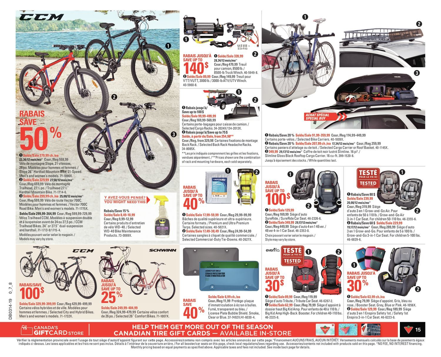 Canadian Tire Weekly Flyer - Weekly - Spring Ready - Mar 28