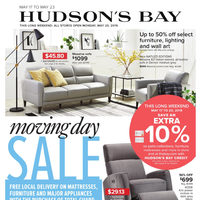 The Bay - Weekly - Moving Day Sale Flyer
