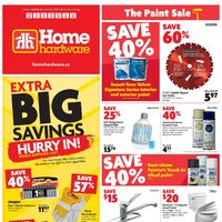 Home Hardware - Weekly - The Paint Sale Flyer