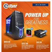 Newegg - Power Up For Greatness Flyer