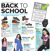 The Bay - Weekly - Back To School Flyer
