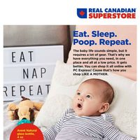 Real Canadian Superstore - Baby Book Flyer