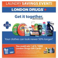 London Drugs - Laundry Savings Event! Flyer