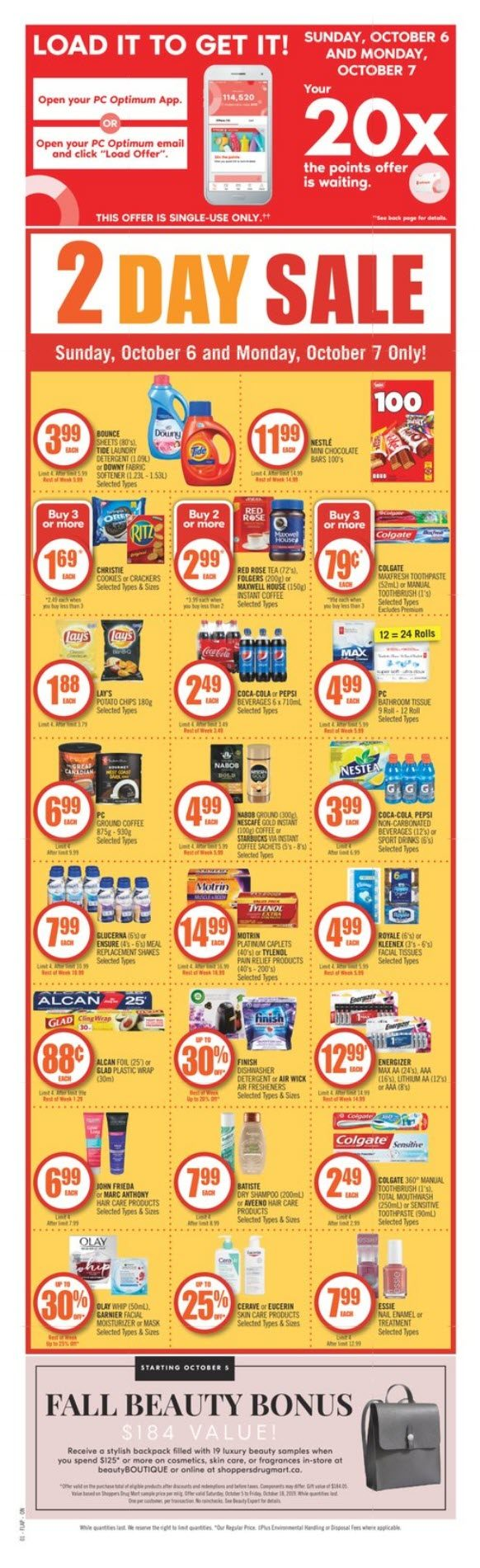 Shoppers Drug Mart Weekly Flyer Weekly Oct 5 10