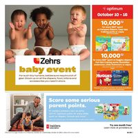 Zehrs - Baby Event Flyer