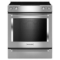 KitchenAid 6.4 Cu. Ft.Self-Clean Slide-In Electric Range With True Convection