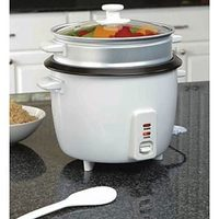 Gravitti Rice Cooker With Steamer