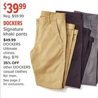 Dockers Signature Khaki Pants