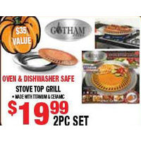 Oven & Dishwasher Safe Stove Top Grill