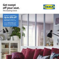 IKEA - The Seating Event Flyer