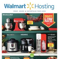 Walmart - Holiday Hosting Ideas Flyer