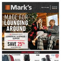 Mark's - 2 Weeks of Savings - Made For Lounging Around Flyer