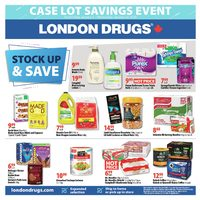 London Drugs - Case Lot Savings Event Flyer