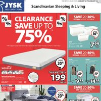 JYSK - Weekly - Clearance Flyer
