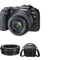 Canon EOS RP Mirrorless Digital Camera With 24-240mm F4-6.3 IS USM Lens + EF-EOS R Mount Adapter + Bag