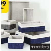 Home Styles 4 Piece Basket Set