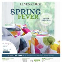 Linen Chest - Spring Fever Sale Flyer