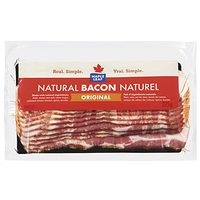 Maple Leaf Natural Bacon, Maple Leaf Ready Crisp Bacon or Schneiders Bacon