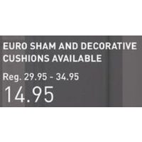 Riverbrook Home Fletcher Bedding Collection - Euro Sham and Decorative Cushion