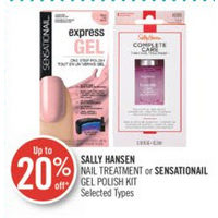 Sally Hansen Nail Treatment Or Sensationail Gel Polish Kit