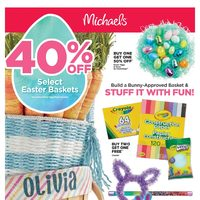 Michaels - Weekly - Stuff It With Fun! Flyer