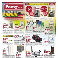 PeaveyMart - Get That Motor Runnin' Flyer
